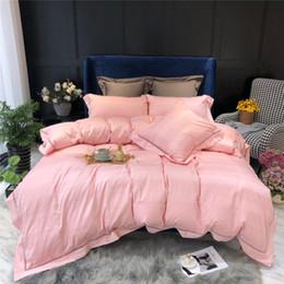 $enCountryForm.capitalKeyWord Australia - 100s Egyptian Cotton Bedding set Super King Queen size Bed set Luxury Golden Embroidery Bedding sets Bed sheet set Duvet cover
