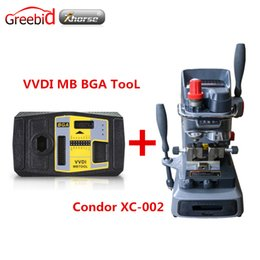 Function Connectors Canada - Original Xhorse V2.1.7 VVDI MB BGA TooL Including BGA Calculator Function Plus Mechanical Key Cutting Machine CONDOR XC-002
