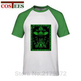 $enCountryForm.capitalKeyWord NZ - Call Of Cthulhu T Shirts Fluorescent green Cthulhu Schema Azhmodai 2019 T-shirt Harajuku brand Clothes Monster Octopus Tops Tees
