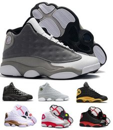 competitive price efd8d c5e96 13 13s Basketball Shoes Sneaker Men Women 2019 Red Bred Chicago Flint Melo  Class Grade Alternate Cap And Gown Hyper Royal XIII Shoes