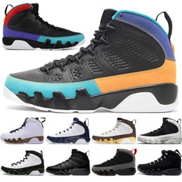 China 2019 9 9s Dream It Do It UNC Mop Melo Mens Basketball Shoes LA OG Space Jam men Bred All Black Anthracite sports sneakers designer trainers cheap dreams plush suppliers