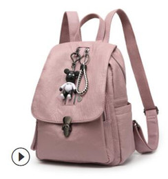 $enCountryForm.capitalKeyWord Australia - Backpacks female summer hot style lock anti-theft backpacks Korean version trend of fashion mummy bag manufacturers foreign trade who 001