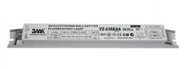Venta al por mayor de YZ-236EAA T8 / TC-L L290D-B1 3AAA 220-240V T8 2x36W Lastre electrónico para lámpara de neón Lámpara fluorescente 1 * 2 Rectificador