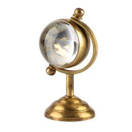 $enCountryForm.capitalKeyWord Australia - Trophy Design Desktop Clock Luxury Golden Cladding Material Rotating Table Clock Hand-winding Movement Pocket Watch for Friends Women Men