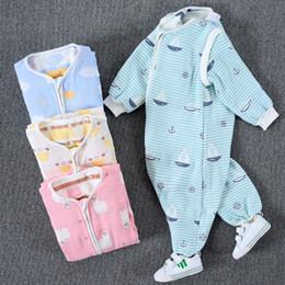 $enCountryForm.capitalKeyWord Australia - High Quality 100% Cotton baby long sleeve jumpsuit bathrobe 100% cotton baby bath towel and cape baby bath robe with hood