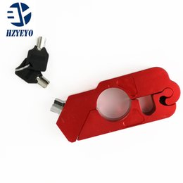 Locking Lever online shopping - HZYEYO Universal Motorbike Parts Accessories Caps Lock Motorcycle Aluminum Handlebar Grip Brake Lever Throttle Security Lock