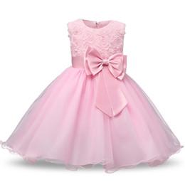 $enCountryForm.capitalKeyWord Australia - Christmas Dress Brand Flower Girl Princess Dress Lace Rose Party Wedding Birthday Baby Kids Girls Clothes Tutu Teen Girl Frocks J190611