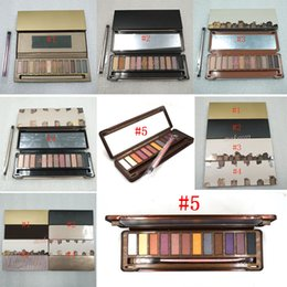 eye shadow 12 Australia - Makeup matte Eye shadow palette 12 color shimmer Eyeshadow Palette eye shadow pallet Palette NO 1 2 3 4 5 Eye Shadow DHL