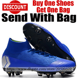 88bd9e316cd8 Soccer cleatS brandS online shopping - 2019 Brand Mercurial Superfly VI SG  ACC Socks Soccer Cleats