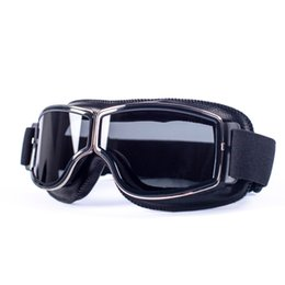 $enCountryForm.capitalKeyWord UK - evomosa Universal Motorcycle Vintage Goggles Pilot Aviator Motorbike Scooter Biker Glasses Steampunk Goggles For Harley Helmet