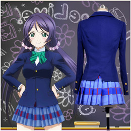 cosplay ! Lovelive Kousaka Honoka Minami Kotori Ayase Eli Tojo Nozomi  Nishikino Maki School Uniforms Love Live Cosplay Costumes 5f9a59589634