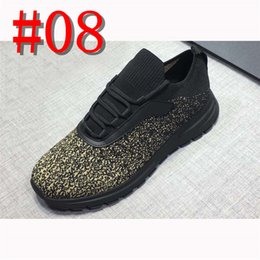 $enCountryForm.capitalKeyWord Australia - NEW Designer sneakers Brand only Man Shoes Leather Mesh Mixed Color Trainer Runner Shoes Unisex Size