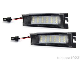 number plate prices NZ - Car led license plate lamps For Benz R129 S124T Factory Price Led number plate light 13.5V 6000K