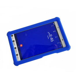 $enCountryForm.capitalKeyWord Australia - MingShore for Lenovo Tab 4 8 Tablet Case Kids-Friendly Bumper for Tab 4 TB-8504 F X N 8.0 Silicone Rugged Tablet Case