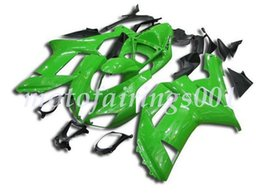 custom zx636 Australia - 4Gifts Free Custom New ABS Bodywork set Fairings kits Fit For KAWASAKI Ninja ZX-6R ZX-636 ZX636 ZX6R 2007 2008 ZX 636 Gloss Green