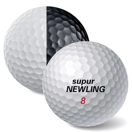 $enCountryForm.capitalKeyWord NZ - Super Long Distance 6 pcs   box Golf Game Balls Three Layers PU Balls Fit for putters Color Black White