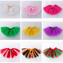 Baby Pettiskirts Tutus Australia - 2019 baby pleated skirts christmas halloween costumes kids tulle skirts cute bowknot tutus toddler pettiskirts newborn photography props new
