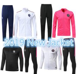 SportS Suit uniSex online shopping - PSG jacket kit Paris soccer Training suit tracksuits MBAPPE LUCAS Vêtements de sport de football jacket Jerseys kit