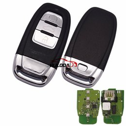 $enCountryForm.capitalKeyWord NZ - For Audi 3 button keyless remote key with 434mhz For Audi A6, A8, Q3,Q5,Q7, NPX F7945AC1500 CMK008 05 Tn617381only your remote key is like