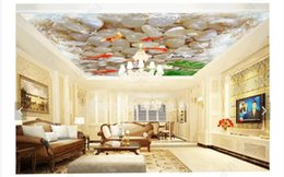 More Anti Australia - Wholesale-Interior Ceiling 3D Custom Photo Mural Wall paper Living room bedroom 3D more than Chinese style zenith ceiling background mural