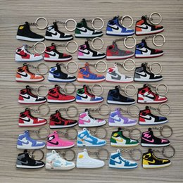Key shoe online shopping - Sneaker Shoes Keychains Joint Co branded Sports Key Chains Concessions Accessories For Bags Cell Phone Straps Backpack styles