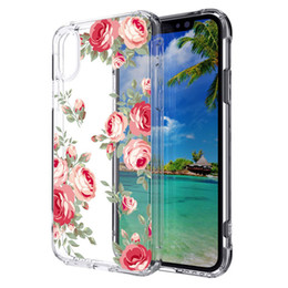 TransparenT plasTic shell online shopping - Acrylic Transparent painted Case For Samsung Galaxy J3 J7 Note TPU PC in Back cover Shell Oppbag