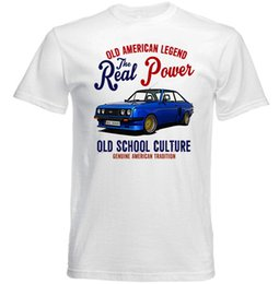 $enCountryForm.capitalKeyWord NZ - VINTAGE AMERICAN CAR FORD ESCORT RS 2000 - NEW COTTON T-SHIRT Brand shirts jeans Print