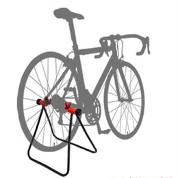 hub cycling UK - Bicycle Bike Cycling Foldable Bicycle Stand Wheel Hub Stand Kickstand Repairing Parking Holder #562403