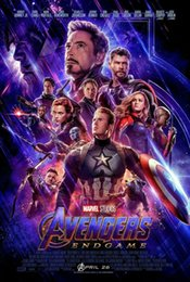 $enCountryForm.capitalKeyWord NZ - Avengers: Endgame 2019 Movie Art Silk Poster 24x36inch 24x43inch 1259