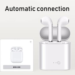 $enCountryForm.capitalKeyWord Australia - Cheap I7 I7S TWS Twins Bluetooth Earbuds Mini Wireless Earphones Headset with Mic Stereo V4.2 Headphone for Iphone Android with Box