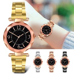 $enCountryForm.capitalKeyWord Australia - D10 Luxury Stainless Steel Band Korean Fashion Round Dial Unisex Men Women Watch Fashion Watches Wristwatch