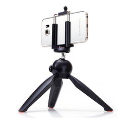 Wholesale Universal Cell Phone Camera Holder Selfie Stick Stand Mount Clip YT Mini Tripod For Mobile Phones Digital Camera with Package