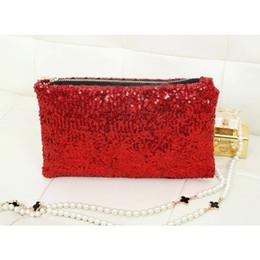 $enCountryForm.capitalKeyWord Australia - Retro Luxury Sequins Hand Bag Taking Late Package Clutch Bag Sparkling Dazzling Sequins Clutch Bags Purse Handbag Evenin FC55