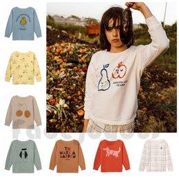 $enCountryForm.capitalKeyWord Australia - Baby T-shirts For Boys Long Sleeve T Shirt Girls Tops Tee 2019 SS Child Kids tshirt Children Round Neck