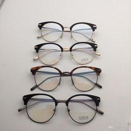 4338deb4ff5 Brand design - the same kind of metal frame glasses size 49-20-145 of  Korean genuine star fashion