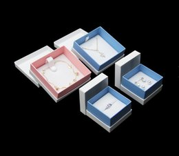 $enCountryForm.capitalKeyWord Australia - High Quality 50pcs lot Box For Jewelry Necklace Pendant Gift Packaging Boxes Wedding Bracelet Ring Earring Carring Cases