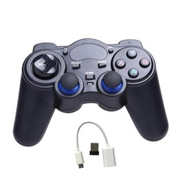 Wireless Usb Game Controller Pc Australia - Universal 2.4G Wireless Game Gamepad Joystick for Android TV Box Tablets PC Game Controller with USB Receiver