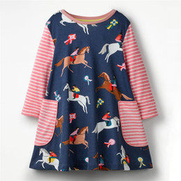 $enCountryForm.capitalKeyWord UK - Kids Dress Jersey Baby Girl Dress 2019 Hot Sale 100% Cotton Dresses for Kids Clothing Baby Girl Clothes
