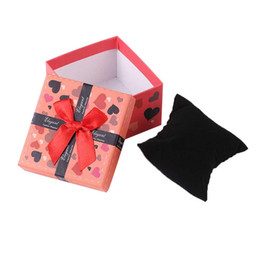 $enCountryForm.capitalKeyWord Australia - Fashion Watch Box Red Durable Present Gift Colorful Bowknot Carton Innovative Gift Packaging Box Jewelry Ring