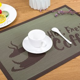 Modern Coasters Australia - 2019 PVC New Modern Contracted mat contemporary pads antiskid Heat resistant Cup mat coasters Home decoration essential goods Hot