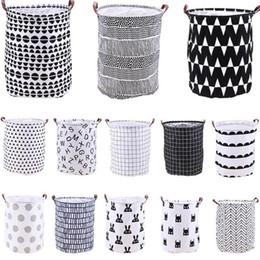 $enCountryForm.capitalKeyWord NZ - Household folding laundry basket cartoon storage bucket standing toy clothing storage bucket toy storage basket T2I5139