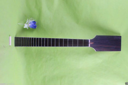 24 Guitar Neck Australia - Maple Electric Guitar Neck 24 fret 25.5inch Rosewood Fretboard Paddle Truss Rod