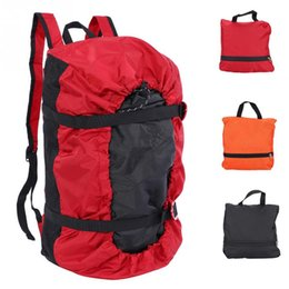 Wholesale 3 in Multifunction Rock Climbing Bags Folding Shoulder Backpack Handbag Outdoor Camping Hiking Picnic Mat