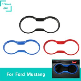 $enCountryForm.capitalKeyWord Australia - ABS Cup Holder Decoration Covers Car Styling Interior Accessories Fit For Ford Mustang 2015-2016 Fctory Outlet