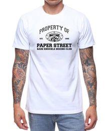 $enCountryForm.capitalKeyWord Australia - Good Quality Brand Cotton Shirt Summer Style Cool Short Graphic Property Of Paper Mens Tees
