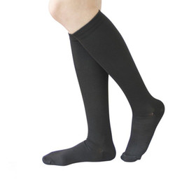 e6ceb4782a 1 Pair Unisex Socks Knee High Graduated Compression Varicose veins nylon pressure  Leg Relief Pain socks