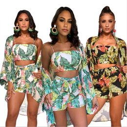$enCountryForm.capitalKeyWord NZ - Summer Designer Tracksuits For Women Track Suits Fashion Women Three-pieces Suits Luxury Lady Suits Casual Women Clothing S-2XL Wholesale