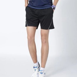 $enCountryForm.capitalKeyWord Australia - New Men Women Sports GYM Black Shorts Badminton breathable Quick drying training running Ping pong table Tennis game Shorts