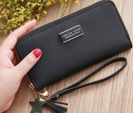Pvc Long Zipper NZ - 01 Fashion lady long wallet coin purse single zipper men card purse clutch bag