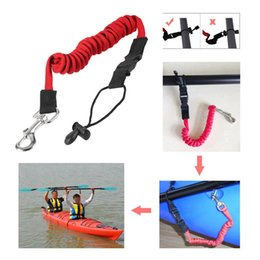 $enCountryForm.capitalKeyWord Australia - FT25 Elastic Kayak Canoe Paddle Leash Surfboard Surfing Leash Rope Safety Leash Rowing Boats Lanyard Fishing Rod Kayak Accessories